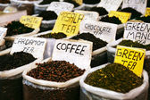 Various of Indian spices — Stock Photo