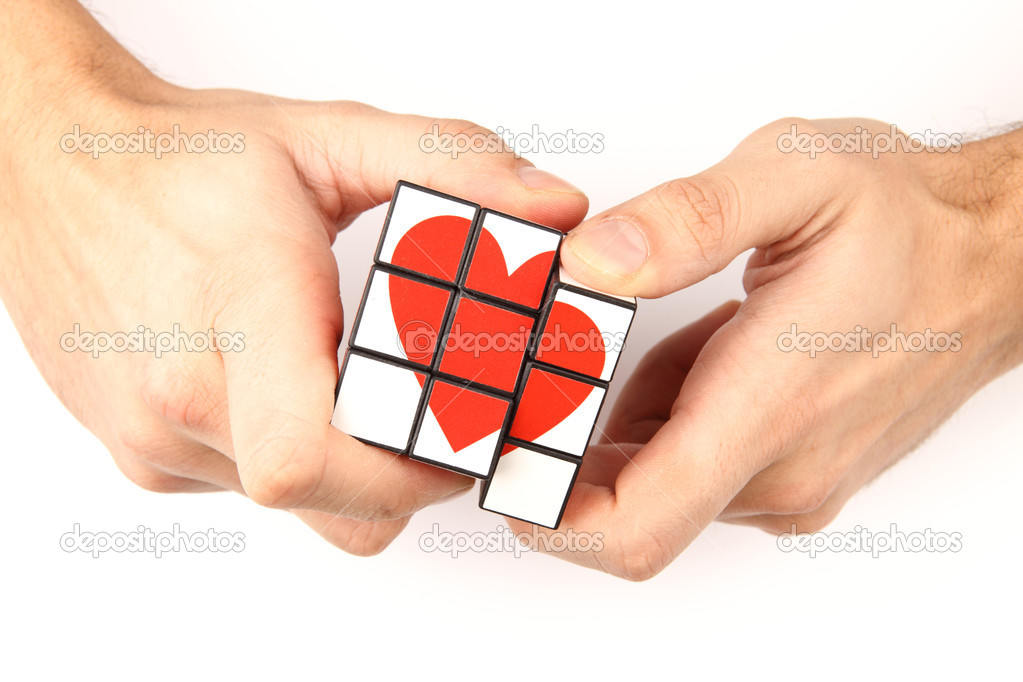 I make a present of my heart — Stock Photo #4724518