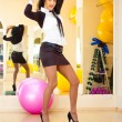 Businesswoman fitness — Stock Photo #4688425