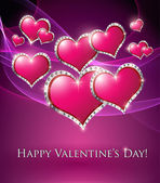 Valentines hearts — Stock Photo