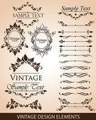 Vintage — Stock Vector