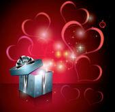 Geschenk-box — Stockvektor