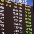 Stock Photo: Airline departures & arrivals