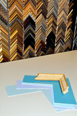 Framing supplies — Stock Photo