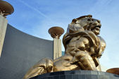 Lion Statue, MGM Grand Hotel — Stock Photo