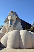 Sphinx Statue, Luxor Hotel — Stock Photo