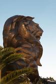 Lion Statue, MGM Grand Hotel — Stock Photo