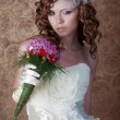 Elegant bride — Stock Photo