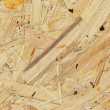 Oriented strand board — Stock Photo #4706180