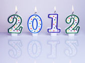 New year decoration 2012 — Stock Photo