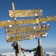 SUMMIT Kilimanjaro — Stock Photo
