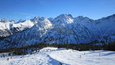 Allgau mountains winter — Stock Photo