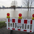 Hochwasser in Köln — Stock Photo