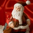 Royalty-Free Stock Photo: Statuette of Santa Claus