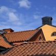 Roof tops — Stock Photo