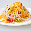 Fried soy bean sprouts — Stock Photo
