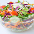 Stock Photo: Healthy green salad