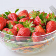 Fresh strawberry salad — Stock Photo #5341037