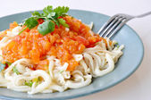 Delicious pasta — Stock Photo