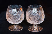 Two crystal bocals — Stock Photo