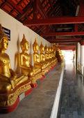 Buddha-skulpturen — Stockfoto