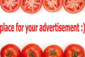 Tomato, object on a white background — Stock Photo