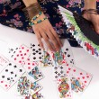 Divination by playing cards — Stock Photo #5307054