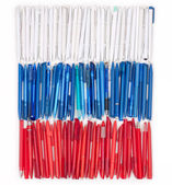 Flag of Russia from the pens — Stock Photo