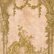 Victorian background with engraving frame. — Stock Photo #4702321