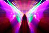 Night club lights — Stock Photo