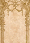 Victorian background with engraving frame. — Stock Photo