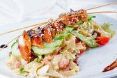 Fresh seafood dish — Stock Photo