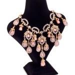 Jewelry necklace — Stock Photo