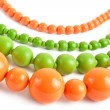 Colored nacklace — Stock Photo