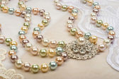 Necklace closeup — Stockfoto