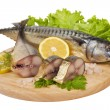 A composition with mackerel fish — Stock Photo #4720921