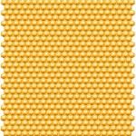 Bee honungskakor mönster — Stockfoto