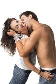 Imagen de una pareja joven — Foto de Stock