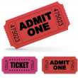 Tickets - Imagen vectorial