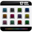 Royalty-Free Stock Obraz wektorowy: Color Buttons