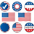 American Vote Signs - Stockvektor