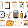 Office Icon Set One - Stock Vector