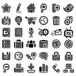 Stock Vector: Web icon set