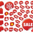 Royalty-Free Stock Imagen vectorial: Vector Labels Set