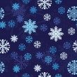 Royalty-Free Stock Vektorfiler: Snow Seamless Vector Background