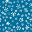 Snow Seamless Vector Background — Stock Vector