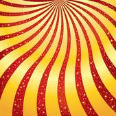 Golden Rays Background — Stock Vector