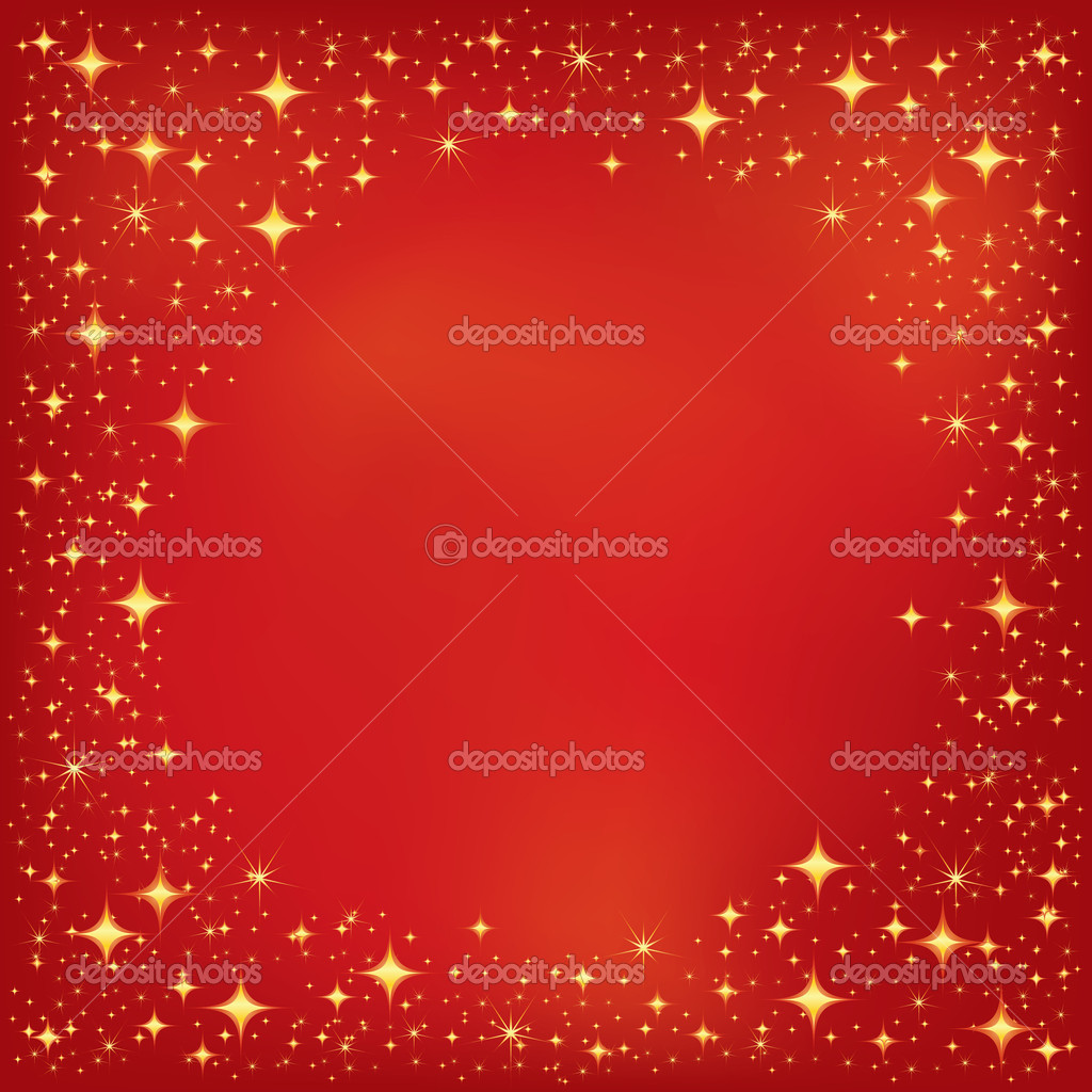 Red Star Background — Stock Vector © magicinfoto #4604708