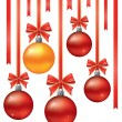 christmas decoration — Stock Vector