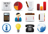 Finance Vector Icons Set Two — Vetor de Stock